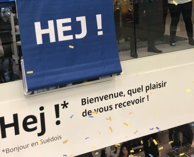 Inauguration du magasin Ikea Paris La Madeleine