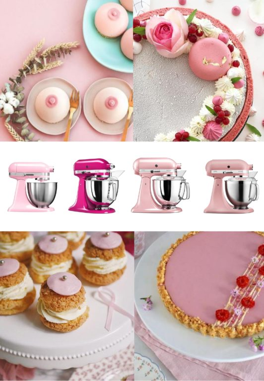 KITCHENAID Octobre rose