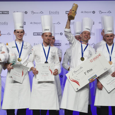 Davy Tissot représentera la France  au Bocuse d'Or Europe 2020
