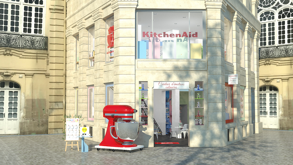 Un pop'up store KitchenAid à Paris !