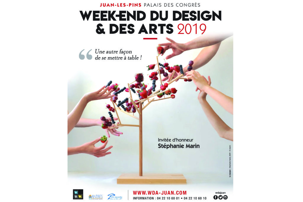 Juan-les-Pins : le Week-End du Design et des Arts se met à table